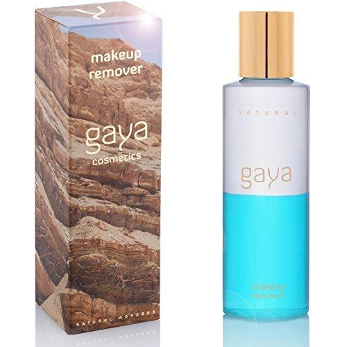 Gaya Cosmetics Augen Make Up Entferner - Veganes Abschmink Produkt für Wasserfestes Makeup und Sanfte Gesichtsreinigung in einer 145ml Flasche