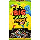 SOUR PATCH KIDS Big Individually Wrapped Soft and Chewy Candy, School Lunch Box Snacks, 240 Count Box