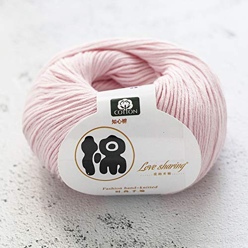 BerYaoYao 3 x 50g Lana Algodón íntimo Lana Infantil para bebés Hilo de algodón orgánico Tejido...
