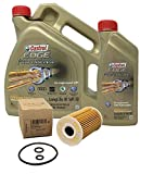 Huile Castrol Edge Professional LongLife III 5W-30, 5 litres + Filtre à huile d'origine 03L115562