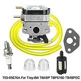 Carburador de Desbrozadora Moto For MTD TB4BP TB4BPEC TBP6160 753-05676A Mochila soplador carburador Carb Carburador Accesorios