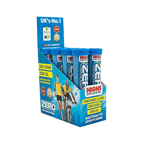 High5 Zero Active Hydration Drink - Box Of 8 Tubes - Mixed flavours (Mixed Box 2 of each (No Neutral))