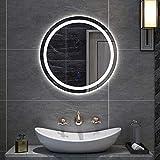 Carb LED beleuchteter Badezimmerspiegel mit Beleuchtung, wandmontierter Berührungssensor...