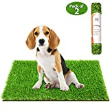 Ecommerce Store CR, PDGrass. Artificial Grass Pad for Dogs. Reusable Potty Training Pads. Porch Potty for Dogs. 2 Pack Size 20 X 30 inch. Indoor and Outdoor Use, Waterproof.
