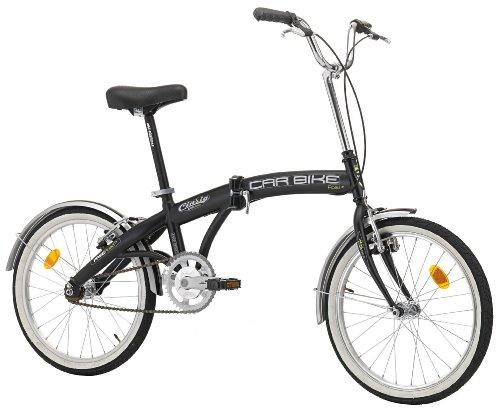 CINZIA Klapprad Car-Bike, schwarz, Rahmenhöhe: 29 cm, Reifengröße: 20 Zoll (51 cm), 871839