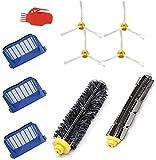 NOBRAND Kit de recambio para cepillos iRobot serie 600 Roomba 600 620 650 651 660 Kit de limpieza Cepillos Set de filtros