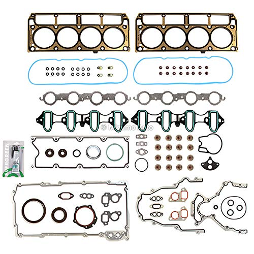 Mizumo Auto MA-9761303623 MLS Full Gasket Set Compatible With/For 99-01 Chevrolet GMC Buick Cadillac 4.8L & 5.3