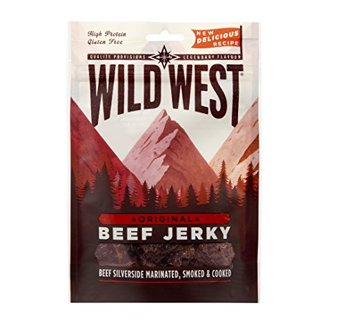 Wild West Original Flavour Natural Beef Jerky 70g