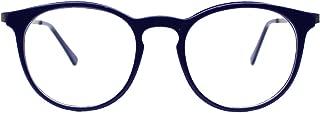 SIGHDEF Womens Round Stylish Eyewear Frame Non-Prescription Clear Eyeglasses Frames for Men