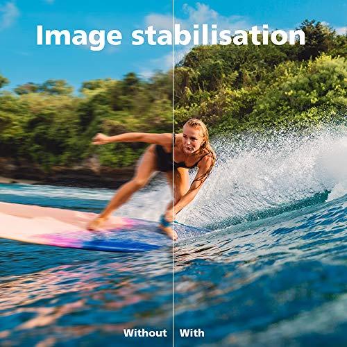 Rollei Actioncam 560 Touch – WiFi Action-Cam wasserdicht 4k 60 FPS – Sports-Cam mit Touchscreen, Unterwasser-Filter, Fotointervallaufnahmen mit 160° Super-Weitwinkel-Objektiv mit viel Zubehör - 6