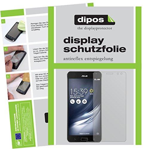 dipos I 6X Schutzfolie matt kompatibel mit Asus ZenFone AR Folie Bildschirmschutzfolie