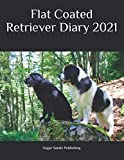 Flat Coated Retriever Diary 2021: Dog Dairies for the most popular dog breeds in the UK.