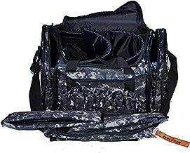 Explorer Large Padded Deluxe Tactical Range Bag Rangemaster Gear Tactical Assault Sling Pack Range Shoulder Camera Bag Modular(Black Camo Color)