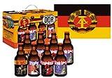 DDR Bier im 8er Geschenkkarton Teil 1 mit DDR Fahne