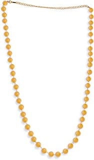 Accessher Pearl Stones Used Beads Waist Chain for Women