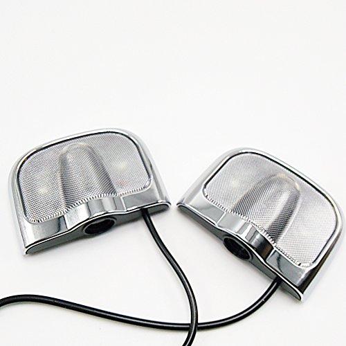 autosunshine 2pcs no taladro tipo Led para puerta de coche Logo de bienvenida proyector fantasma sombra tóner emblema luces