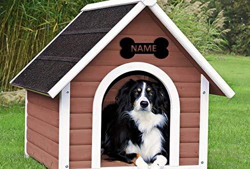M2 Designs Hundehütte, personalisierbar, Acryl, personalisierbar