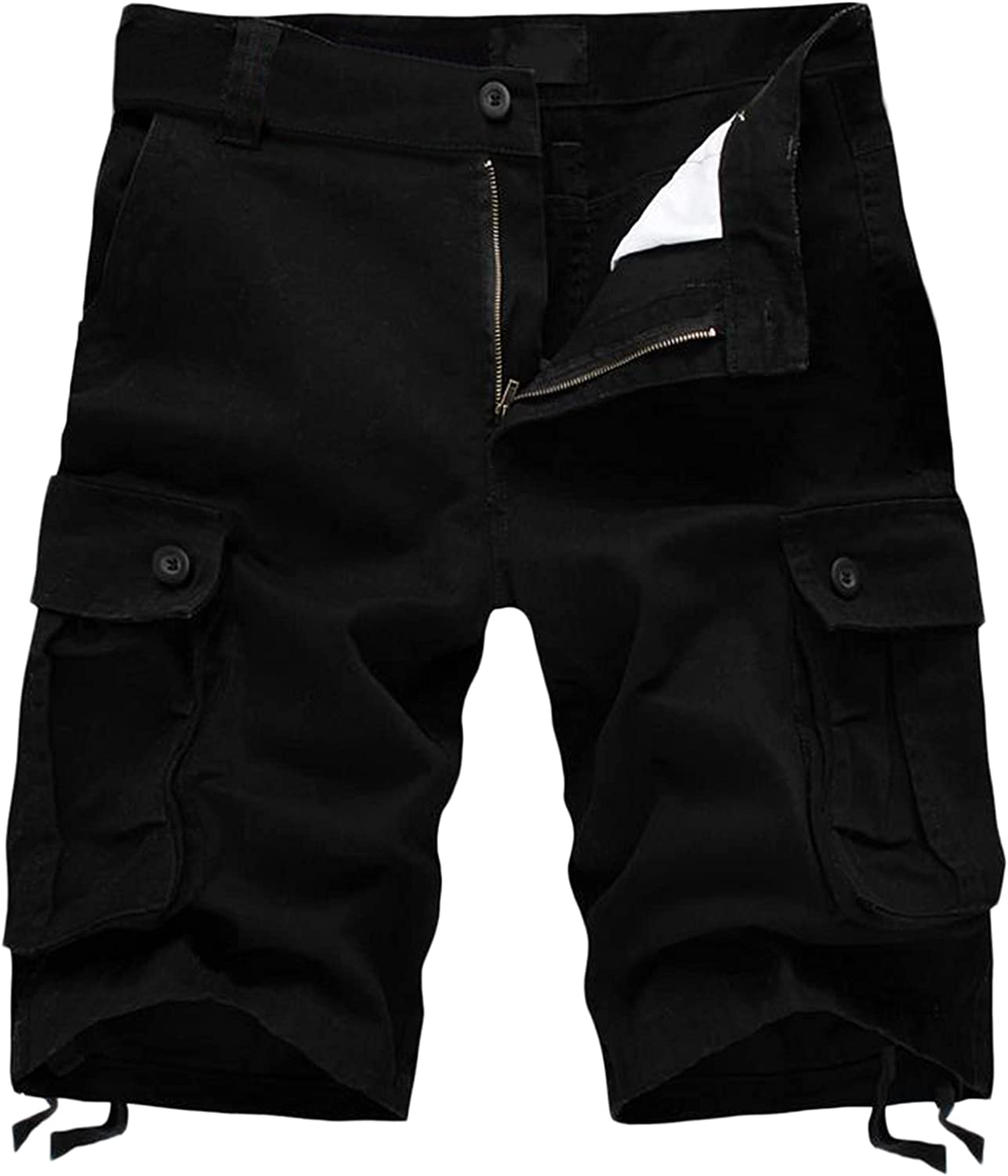 Excellence Sales results No. 1 JSPOYOU Men's Cargo Shorts Cotton Fit Relaxed Lightweight Casual