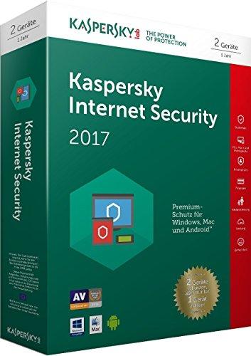Preisvergleich Produktbild Kaspersky Internet Security 2017 / 2 Geräte / 1 Jahr / PC / Mac / Android / Download