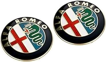 Pack de Emblemas para capo y maletero 74mm de repuesto. Insignia Dorada (2 Unidades)