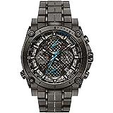 Bulova Precisionist 98G229 - Orologio cronometro design - cinturino in acciaio inox - uomo - grigio/blu