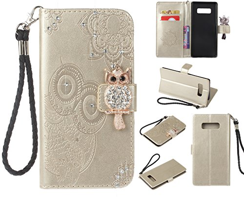 Artfeel-Diamant-Brieftasche-Hlle-fr-Samsung-Galaxy-Note-8