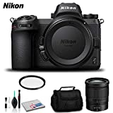Nikon Z 7 Mirrorless Digital Camera (Body Only) - Bundle with 72mm UV Filter and More - International Version