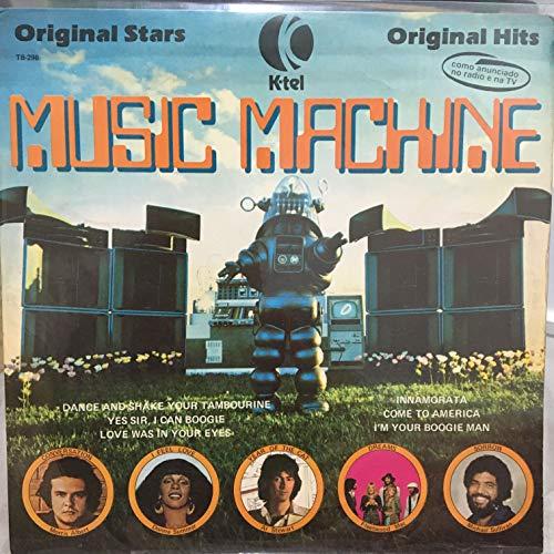 K-tel Music Machine Original Stars All Top 10 Hits Original Hits Record Album Vinyl LP