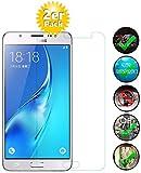 Smartphone Equipment [2er Pack] Panzerglas für Samsung Galaxy J5 2016 (SM-J510) Echt-Hartglas 9H, Glasfolie Schutzfolie Glas Folie Panzerfolie Display Schutz
