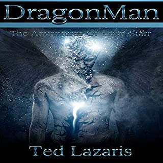 DragonMan - The Adventures of Luke Starr audiobook cover art
