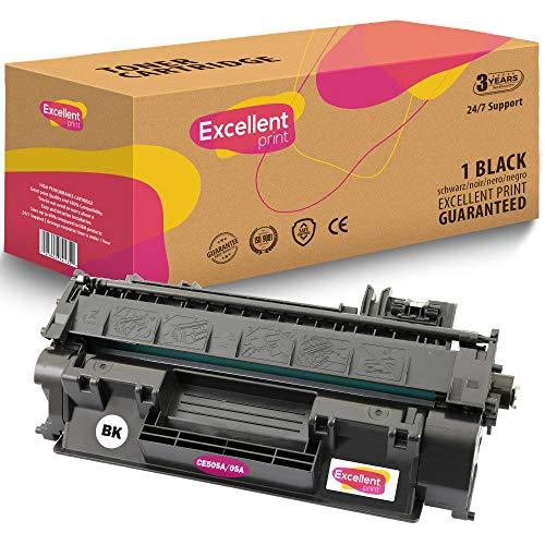 Uitstekende Print CE505A 05A compatibele tonercartridge voor HP LaserJet P2030 P2035 P2050 P2055 1 Zwart