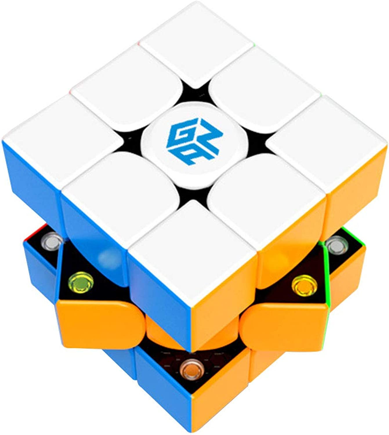 Threedimensional puzzle Cube, small size racing twisting artifact magnetic smooth game dedicated highend cube (5.4  5.4  5.4CM)