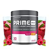 Complete Nutrition Prime Drive Energy & Weight Loss Powder, Raspberry Tea, Increase Energy, Boost...