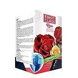 Firstclass Concime Fertilizzante Granulare Specifico per Rose   Ricca Fioritura   Colori più Intensi   Sviluppo Rigoglioso   Offerta Barattolo Richiudibile da 2 kg