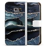 DeinDesign Étui Compatible avec Samsung Galaxy S6 Edge Étui Folio Étui magnétique Tendances...