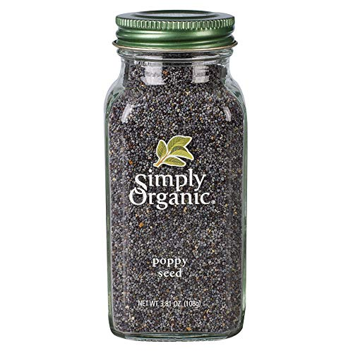 Simply Organic Whole Poppy Seed, Certified Organic | 3.81 oz | Papaver somniferum L.