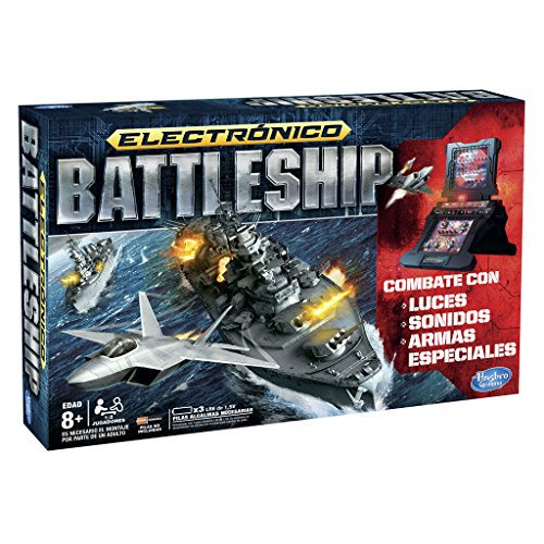 Hasbro Gaming - Juego de Estrategia Hundir la Flota, Juego electrónico (A3846105)