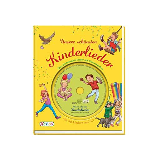 Unsere schönsten Kinderlieder: mit CD