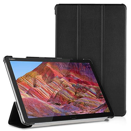 Gaishi Funda de Cuero Delgada Compatible con Huawei Mediapad M5 Lite 10'', Estuche de protección de Cuero excelente con función de...