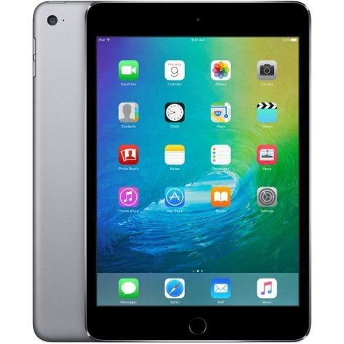 Apple iPad Mini 4 64gb Wi-Fi - Space Grey (Renewed)