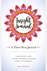 Insight Journal: A Three-Year Journal Paperback