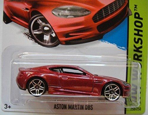 Hot Wheels, 2015 HW Workshop, Aston Martin DBS [Maroon] #250/250
