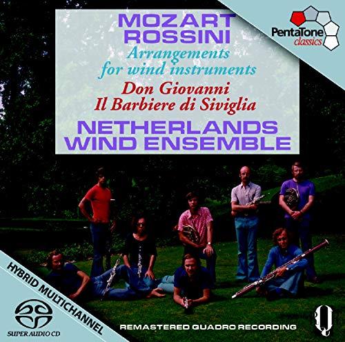 Mozart / Rossini: Arreglos Para Instrumentos De Viento De Don Giovanni Y Il Barbiere Di Siviglia / Netherlands Wind Ensemble