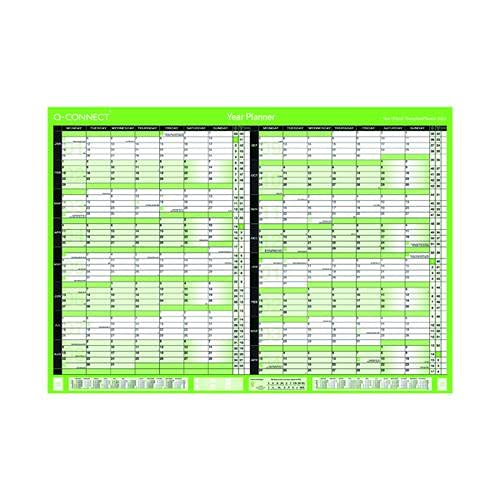 Q-Connect 16 Month Planner A1 2022-23 KFBPU122(PACK OF 7) +FREE FINCHLEY REFILL PEN