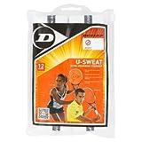 U Sweat 12 Pack Tennis Overgrip White by Dunlop