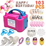 Best Balloon Set With Pumps - Balloon Pump, Electric Balloon Blower 110V 600W Portable Review