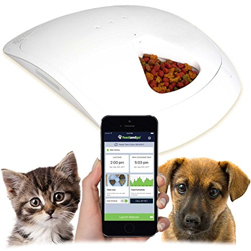 Feed and Go Smart Pet Feeder 2018 Model Now