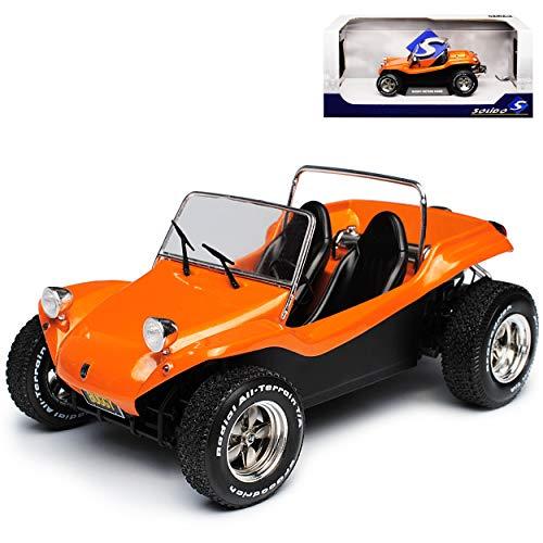 Meyers Manx Buggy Orange Offen 1968 1/18 Solido Modell Auto