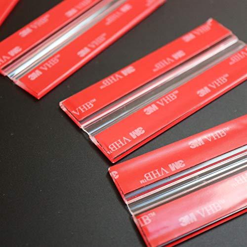 4x 100mm Bisagras Flexibles : no se requiere pegamento. Autoadhesivas. Plástico bisagras activas y flexibles, plexiglás. Bisagras acrílicas, continuas y transparentes de piano.