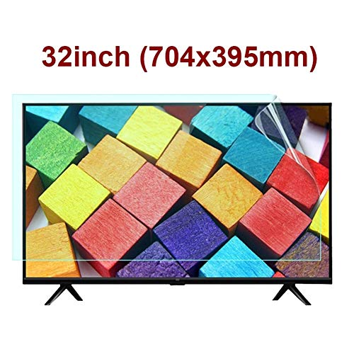 KUYUC 32 Zoll Displayschutzfolie für TV, Anti-Blaues Licht Anti-Reflex Display Schutz Folie für PC Computer LCD Monitor (Color : Matte, Size : A)